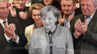 Video «FOKUS: Merkels Dilemma» abspielen
