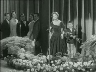 Lugano 1956 - Lys Assia erste Gewinnerin des Eurovision Song Contest
