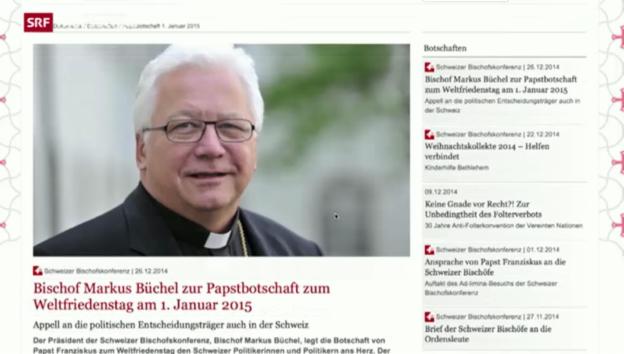 Video «Bischofskonferenz sorgt sich um Menschenrechte» abspielen