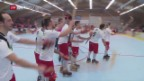 Video «Rollhockey: Das kleine Diessbach gegen das grosse Benfica» abspielen