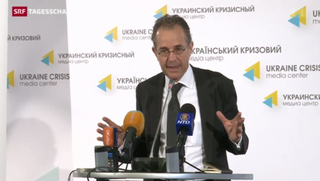 Video «Sondergesandter Guldimann zur Lage in der Ukraine» abspielen