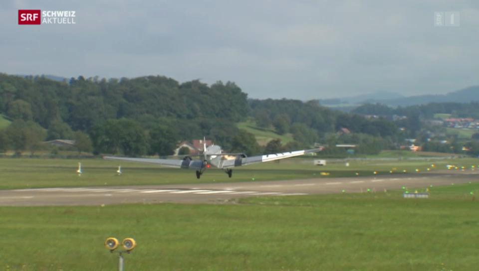 Flugplatz Dübendorf wird zum zivilen Flugfeld