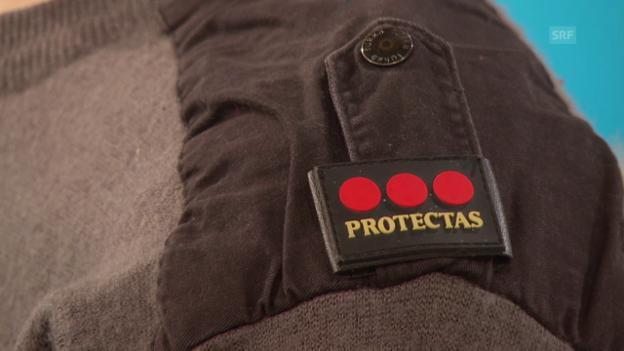 Video «Heikle Sicherheitseinsätze: Straftäter in der Protectas-Uniform» abspielen