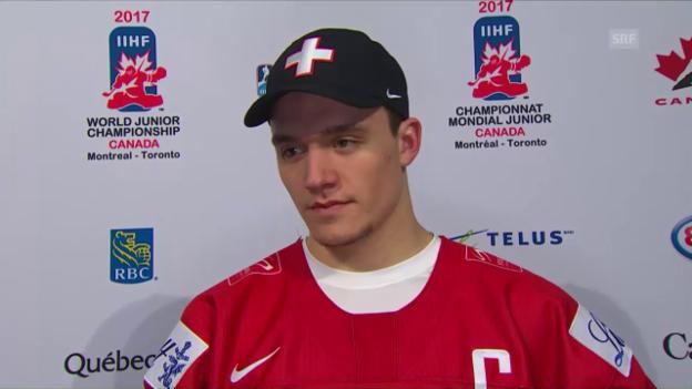 Video «Interview mit U20-Captain Thürkauf (Englisch)» abspielen