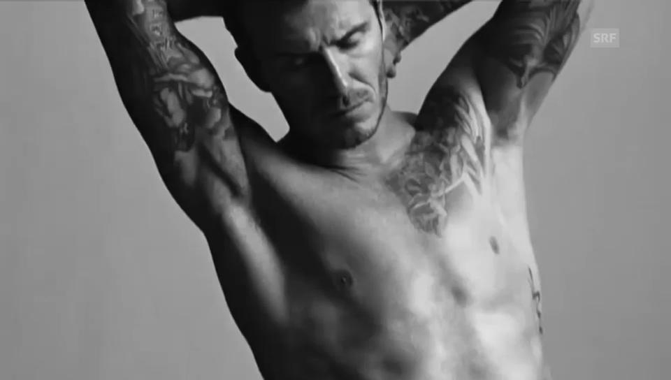 Das Original: Beckham in Unterhose