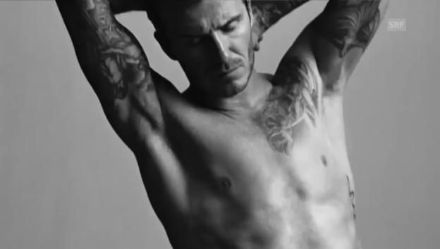 Video «Das Original: Beckham in Unterhose» abspielen
