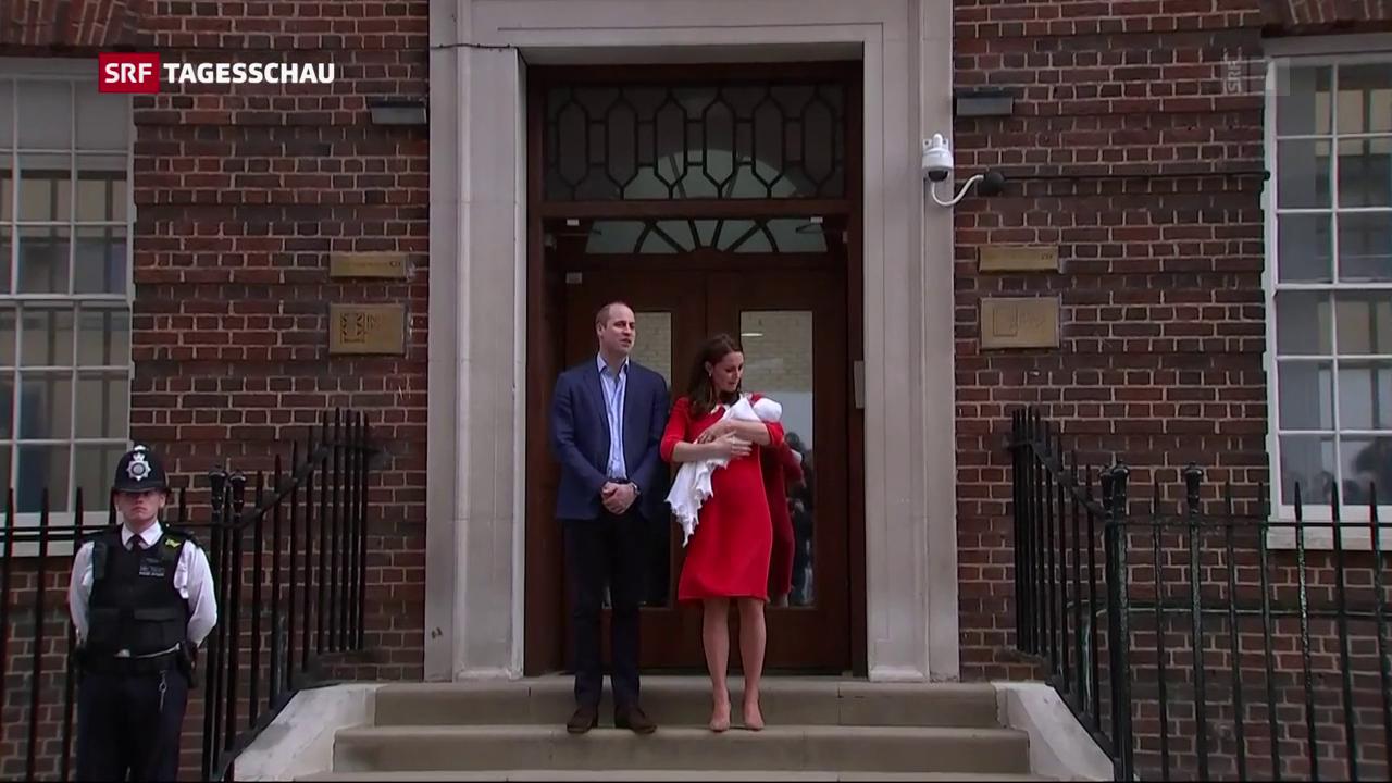 Drittes Baby für Kate und William