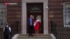 Video «Drittes Baby für Kate und William» abspielen