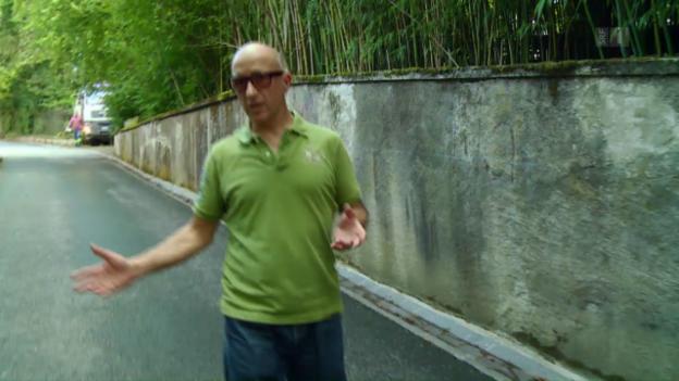 Video «Nicht ganz dicht: Giuseppes Sandsteinmauern» abspielen