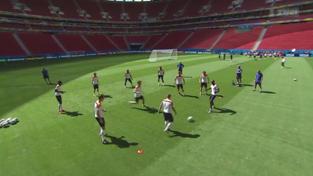 Video «Die Niederlande vor dem kleinen Final» abspielen