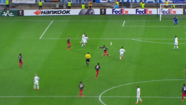 Video «EL: Marseille - Bilbao» abspielen