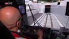 Video «Neuer Bahntunnel in St. Gallen eröffnet» abspielen