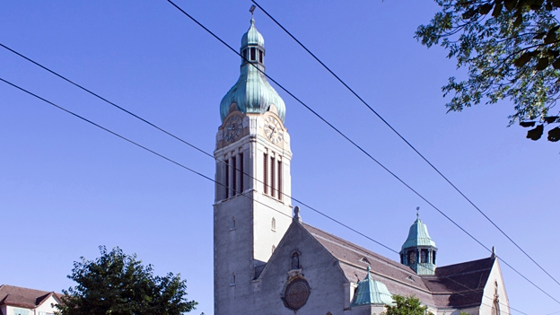 Glockengeläut der Kirche St. Maria, St. Gallen-Neudorf