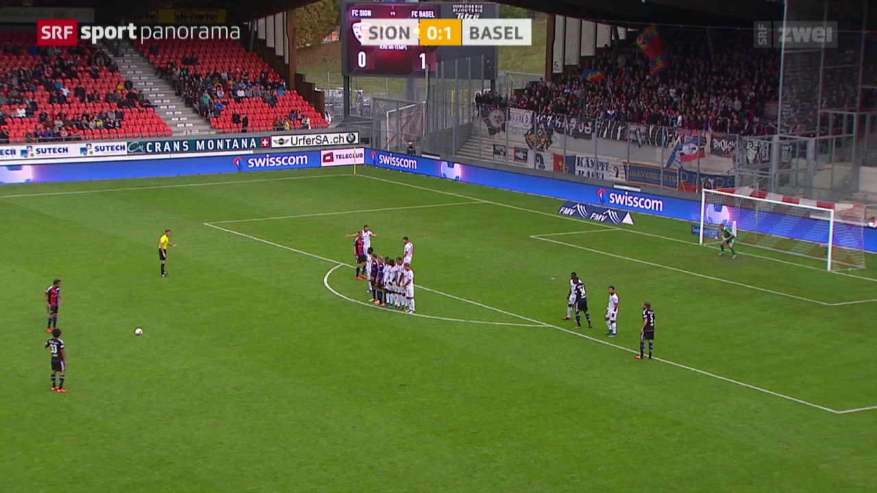 Fussball: Super League, Sion - Basel