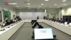Video «Hin-und-Her um russische Olympioniken» abspielen