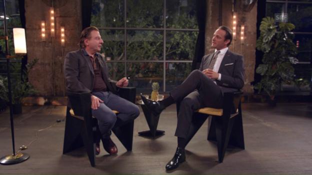 Video ««Deville»: Schauspieler Beat Schlatter auf Late-Night-Visite» abspielen