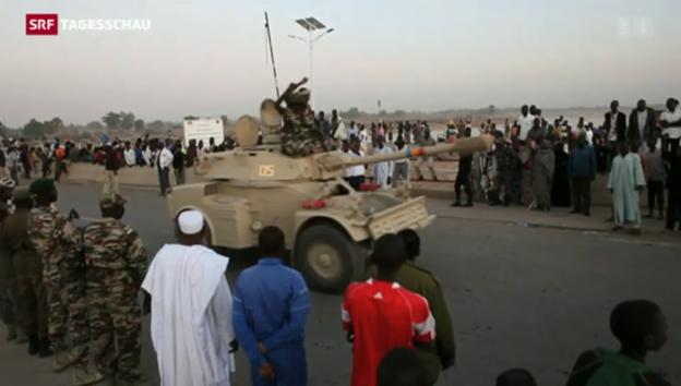 Video «Tschad geht gegen Boko Haram vor» abspielen