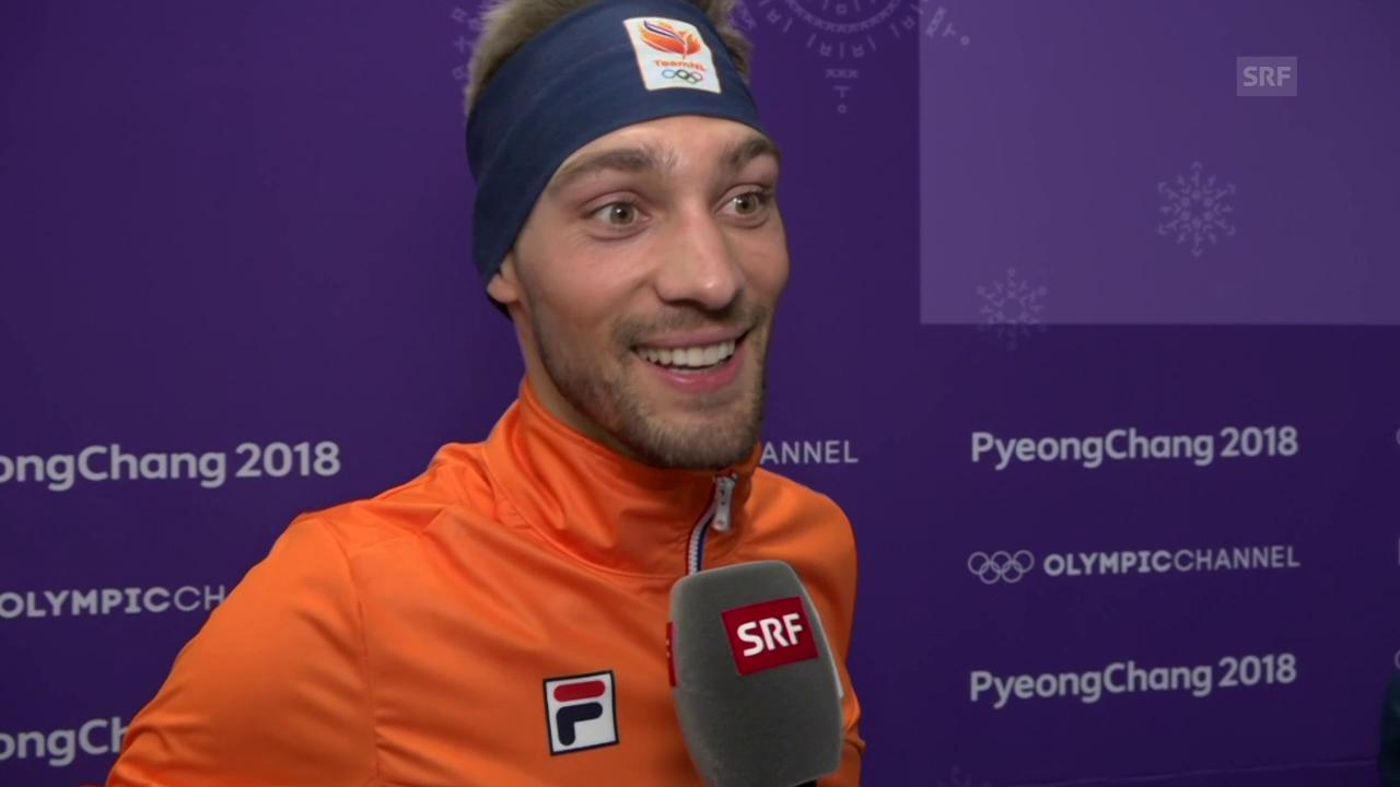 Kjeld Nuis: «Sven sagte, dass heute mein Tag wird»