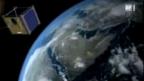 Video «Schweizer Satellit: Klein aber fein» abspielen