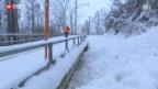 Video «Bahnstrecke unterbrochen» abspielen