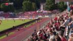 Video «Testspiel Schweiz - Japan» abspielen