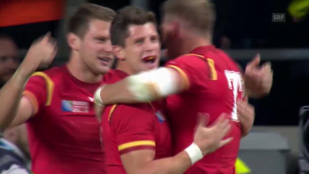 Video «Rugby: England-Wales» abspielen