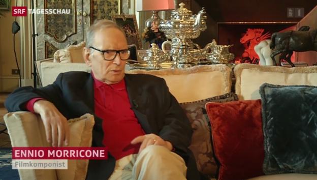 Video «Filmkomponist Morricone wird 85 Jahre alt» abspielen