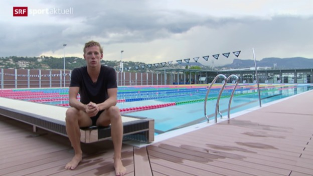 Video «Schwimmen: Portrait Jérémy Desplanches» abspielen