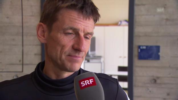 Video «Interview mit FCZ-Trainer Urs Meier» abspielen