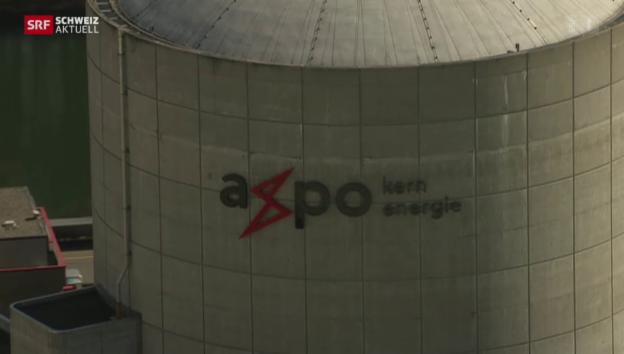Video «Neue Deckel für Druckbehälter im Reaktor des AKW Beznau» abspielen