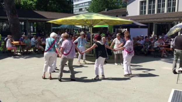 Video «Senioren in Solothurn tanzen am Jubiläum der Pro Senectute Schweiz» abspielen