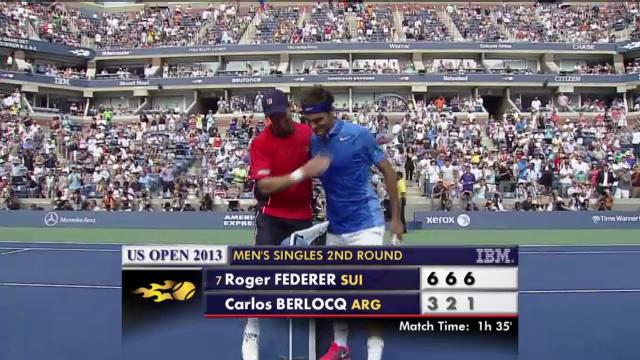 Tennis: Highlights Federer - Berlocq («sportlive»)