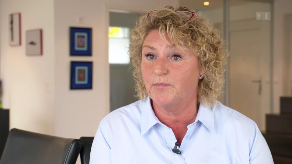 Claudia Schrepfer: «Ich habe aber nicht für eine Raspel unterschrieben, deren Griff abbricht und im Hüftknochen steckenbleibt.»