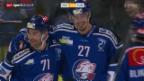 Video «Eishockey: ZSC Lions - Zug» abspielen