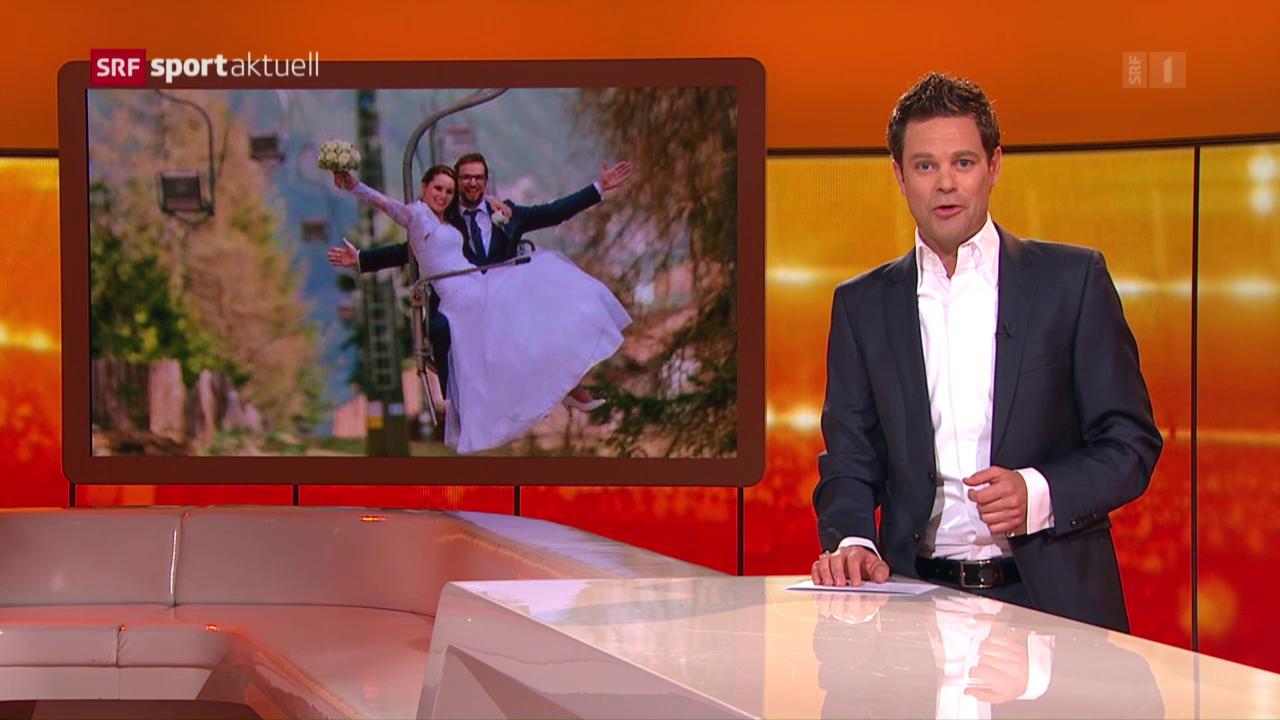 Anna Fenninger hat geheiratet