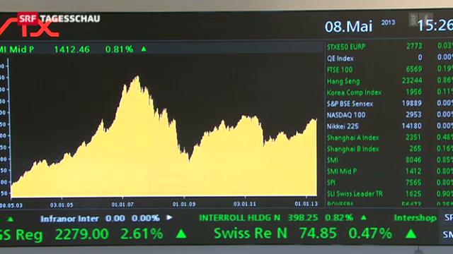 Börsen im Höhenflug