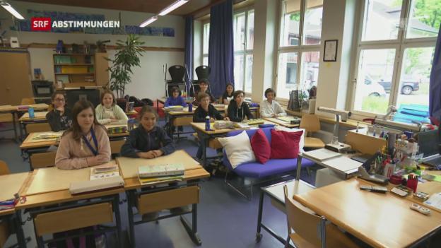 Video «Französisch und Englisch bleibt in der Primarschule» abspielen