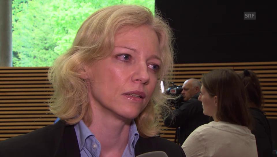 Staatsanwältin Barbara Loppacher zur Fahndung