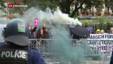 Video «Störungen von «Marsch fürs Läbe»» abspielen