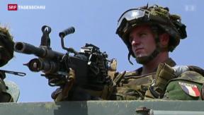 Video «Französische Soldaten in Zentralafrika» abspielen