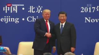 Video «Trump und Xi beschliessen Wirtschaftsdeals» abspielen