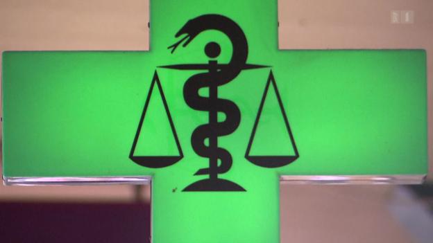 Video «Verkaufstricks in Apotheken: Geheime Werbe-Deals mit der Pharma» abspielen