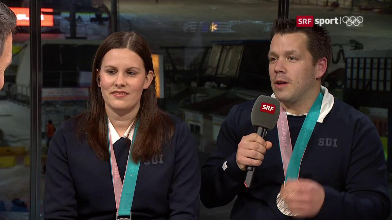 Rios über die Medaillen-Party