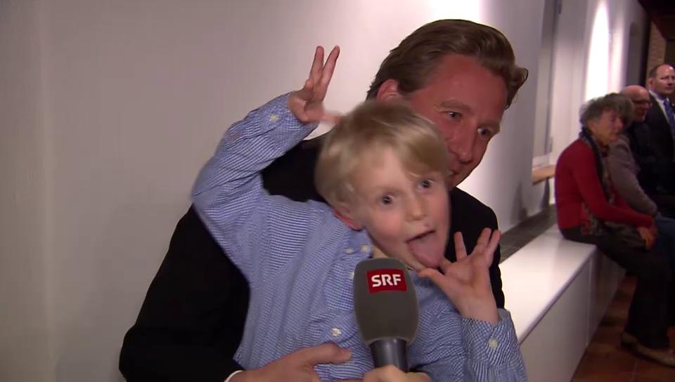 Emil Steinbergers Enkel zeigt sein komödiantisches Talent