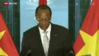 Video «Vertriebener Präsident» abspielen