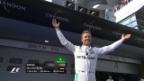 Video «Rosberg macht in Schanghai den Hattrick perfekt» abspielen
