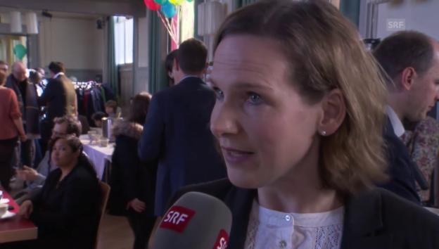 Video «Evi Allemann zum NAF: «Zu tiefer Griff in die Bundeskasse»» abspielen