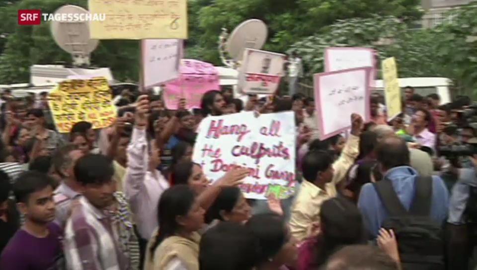 Todesstrafe wegen tödlicher Vergewaltigung in Indien