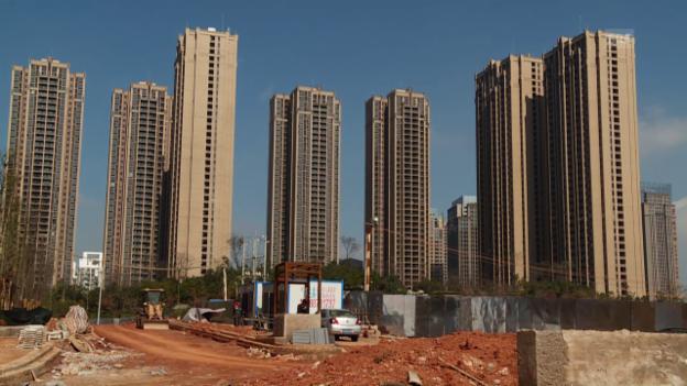 Video «Bauboom in Chenggong» abspielen