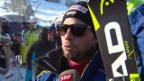 Video «Beat Feuz: «Bis zum Rennen wieder im gewohnten Massstab»» abspielen